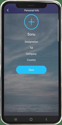 rahaha mobile view user dashboard