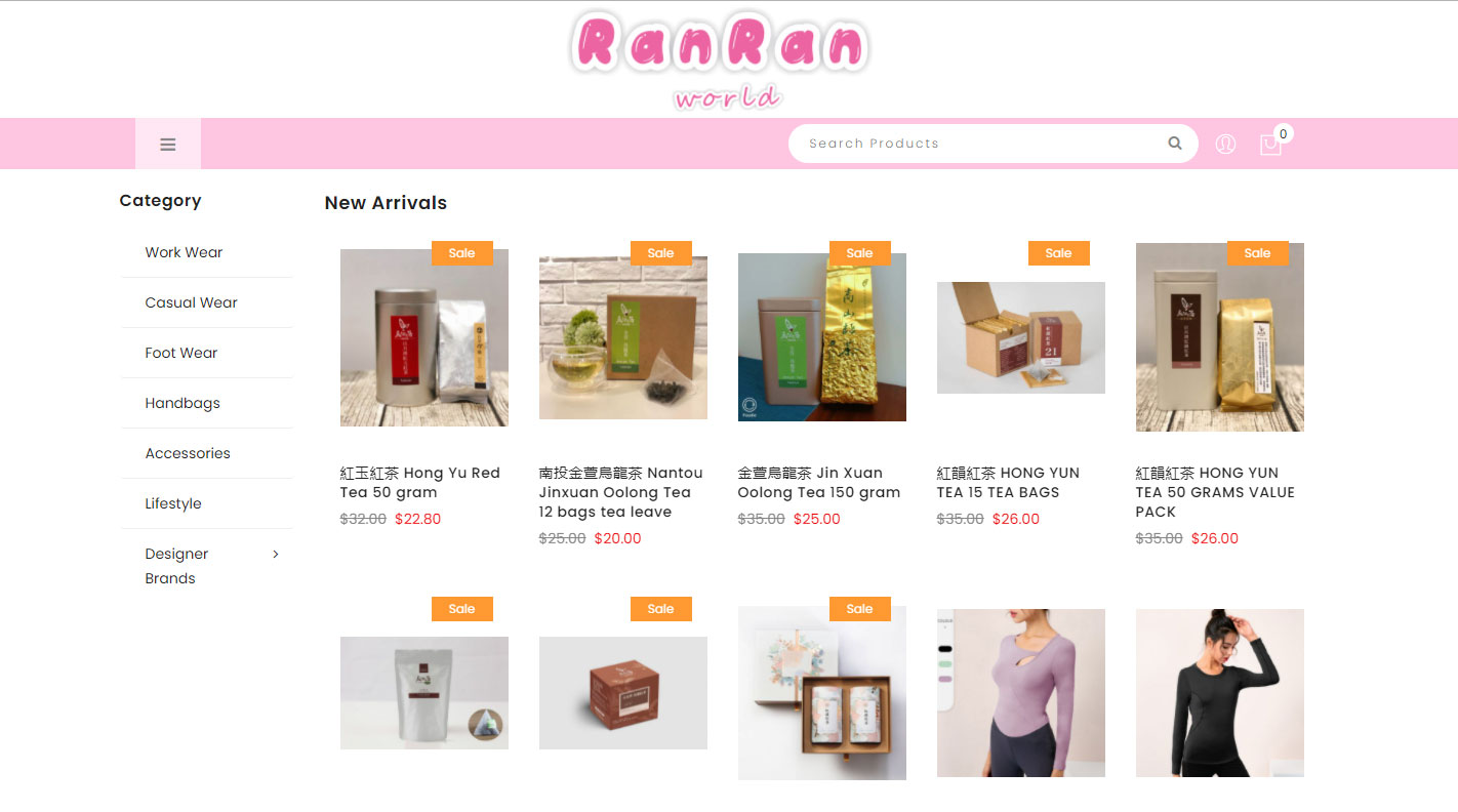 Ranran-World-Homepage