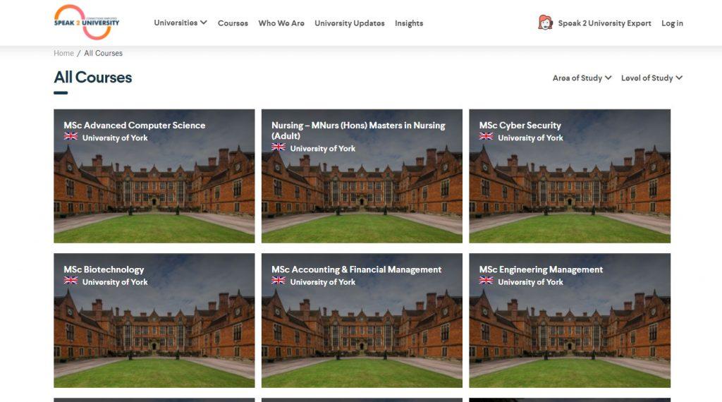 Speak2University-Courses--page